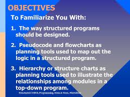 Cobol Structure Chart Structured Cobol Programming Ppt Video Online Download