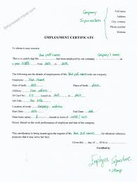 Format Of Employer Certificate Schengen Visa Application Documents Employment Certificate
