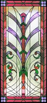 znr4 custom art deco style leaded stained glass window created by jack mccoy was all clear textured stained glasses