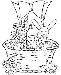 23 Free Printable Coloring Pages Easter Basket Onenusaduacom