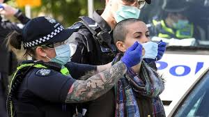 Health authorities believe the cluster started in a melbourne quarantine hotel by a person who used a nebulizer to treat a health condition. Anti Lockdown Protests Erupt In Australia Just As Cases Start To Come Down
