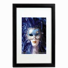 photo al company wooden frame a4 black