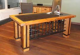 reclaimed office desk. stylish timber office desk bgliving to best reclaimed e