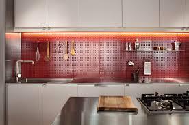 Kitchen Backsplash Red Red Backsplash Kitchen Boston Kitchen Remodel Red Pegboard