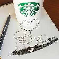 cute starbucks drawing. Simple Starbucks Anyone  For Cute Starbucks Drawing I