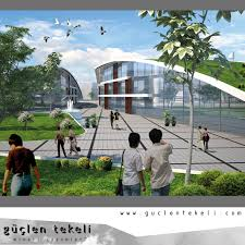 Recreational Space Design Urfa Square Park Mall Mosque And Recreational Areas
