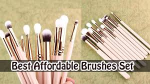 best affordable makeup brushes set learnever 12pcs pro makeup brushes set best makeup brushes set