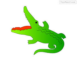 crocodile drawing for kids. Perfect Crocodile How To Draw Crocodile For Kids Step By Drawing Tutorial  Easy Inside Drawing For Kids L