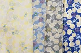 Cyc Design Wholesale Fabric 4 Colors Floral Pattern Nylon Print Export Japanese