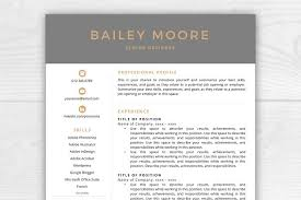 Cv Resume Template Best 8615 Resume Templates Creative Market