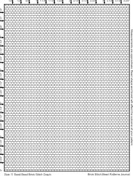 Peyote Graph Paper Patterns Hashtag Bg