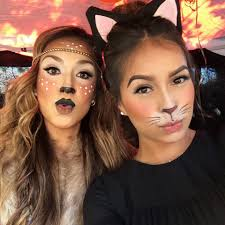 hanging out with my little sis julie goofing off with our quick make up hope you consider this make up as a fast and easy solution for a last