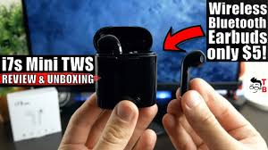 <b>i7s</b> Mini TWS REVIEW: The Cheapest Wireless <b>Bluetooth Earbuds</b> ...