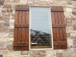 exterior wood shutters decorative provide privacy u0026 safety wooden shutters83 shutters