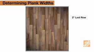 installing laminate flooring step 3 plan first and last row