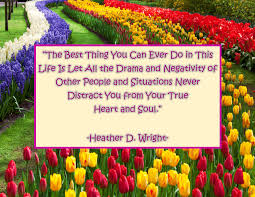 Quote On No Drama True Self Printable Quote Download Colorful Spirit Gifts