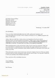 Writing A Cover Letter Example Australia Inspirational Part Time Job