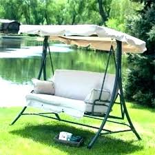 outdoor swing replacement parts glider with canopy cushions best patio seat and for 2 seater