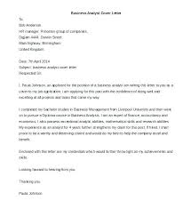 Cover Letters Cool It Business Analyst Cover Letter R Photo Entry Level Sample Best For