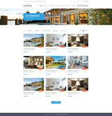 real state template dreamvilla real estate html template by fortunecreations themeforest