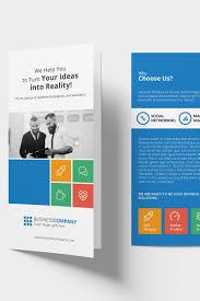 Metro Template Metro Bi Fold Dl Brochure Corporate Identity Template