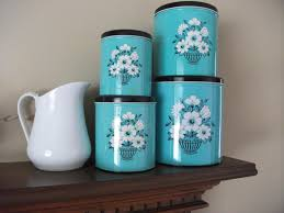 Green Canister Sets Kitchen Similiar Teal Kitchen Canisters Keywords