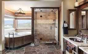 Rustic Bathroom Rustic Master Bathroom Ideas Liberty Foundation