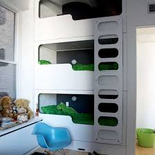 Boys' modern bunk beds