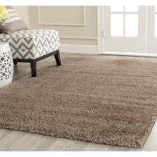 Shaggy Rugs For Living Room Living Room White Shag Rug With Large Glass Window And Grey