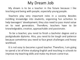 bus week assignment creating your dream job online  my dream job homework