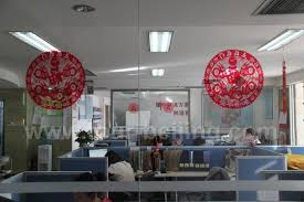 decorations for office. See-through Paper-cuts For Window Decorations Office