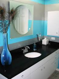 turquoise color bathroom rustic transformation rms stereosandsouffles turquoise grey striped ba