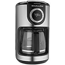 amazon com kitchenaid kcm111ob 12 cup glass carafe coffee maker kitchenaid kcm1202ob 12 cup glass carafe coffee maker onyx black