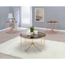 coffee table glass coffee and end table sets round mirrored coffee table gold accent end table