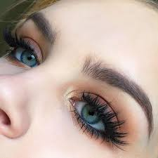 simple eye makeup. if only eyelashes naturally looked like this. simple eye makeup e