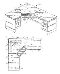 l shaped desk plans pipe desk desk an l shaped desk fits tightly into the corner of a room giving the desk a wrap oak computer desk
