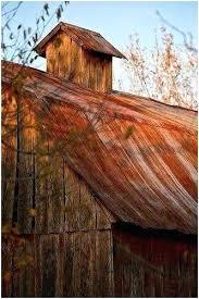 rusty corrugated