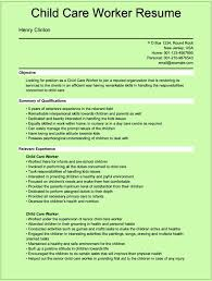 childcare resume equations solver cover letter sle resume child care worker