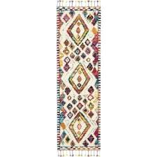 colorful moroccan rug 2 x 6 runner white colorful area rug bright colored moroccan rugs