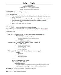 Student Resume Examples Best Template Collection Http Www
