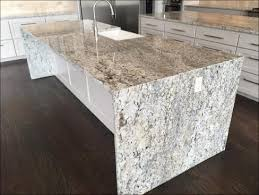 10 5 x 4 foot white ice 3cm brazilian granite kitchen island features pattern matched