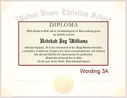Diploma Wording Diploma Details Diploma Wording 3