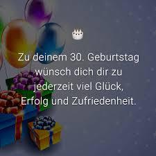 ᐅ Glückwünsche Zum 30 Geburtstag Beliebt Lustig Kreativ