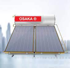 Máy nước nóng năng lượng mặt trời tấm phẳng 300 lít Osaka chịu áp chính hãng
