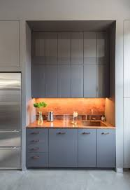 office kitchen designs. Brilliant Kitchen Contemporary Office Design In NYC For Kitchen Designs