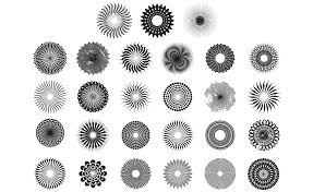 12 Vector Circle Pattern Images The Adobe Illustrator Vector Art