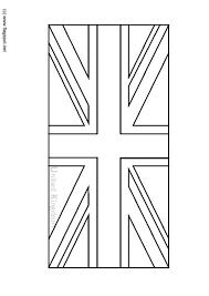 Kleurplaten Van Engelse Vlag