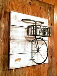 Bicycle Shelf Bicycle Planter Bicycle Wall Art Reclaimed Etsy