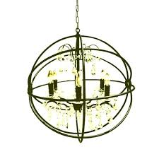 iron orb chandelier vineyard orb 4 light chandelier black wrought iron orb chandelier foucaults iron orb