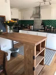 Inspiring Small Wheels Oak Wood Diy Furniture For Seats Kitchen